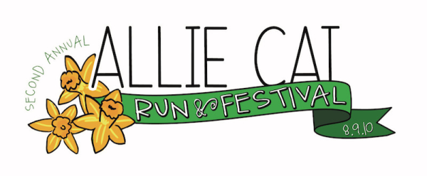 Allie Cat Run and Festival logo