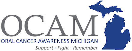 Oral Cancer Awareness Michigan logo