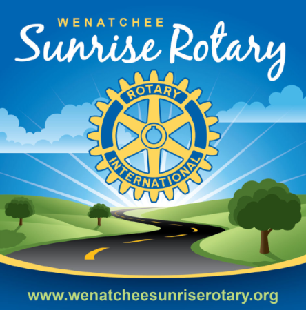 Wenatchee Sunrise Rotary Challenge Scholarship logo