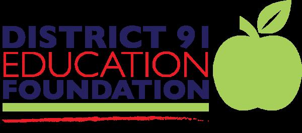 District 91 Education Foundation logo