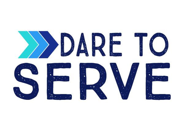 Dare To Serve logo