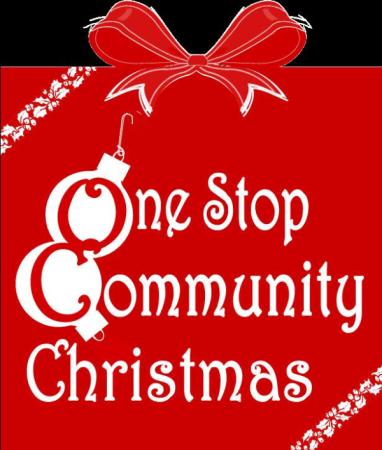 One Stop Community Christmas logo