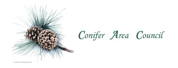 Conifer Community Trails logo