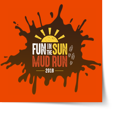 Fun in the Sun Mud Run for Local Charities  logo