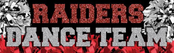 Huntley High School Raider Dance Team logo