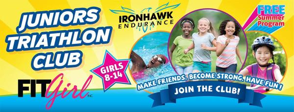 Ironhawk Juniors Triathlon Club logo