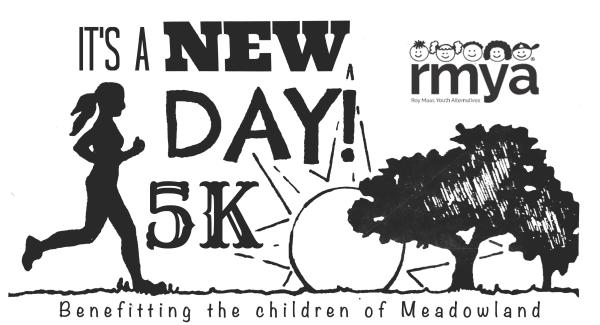 RMYA- It's a New Day 5k logo