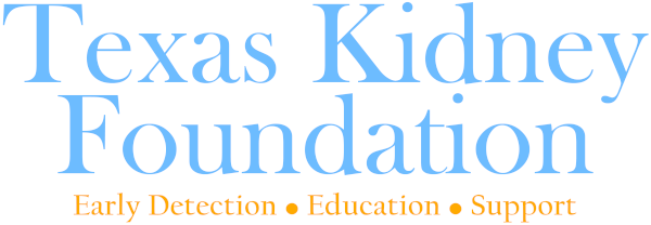 Texas Kidney Foundation logo
