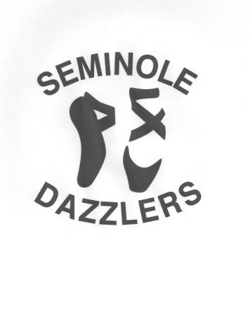 Seminole High School Dazzlers logo