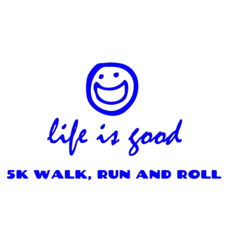 Life is Good 5k logo