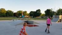 The Prairie du Chien skate park logo