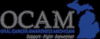Move It Michigan for Oral Cancer logo