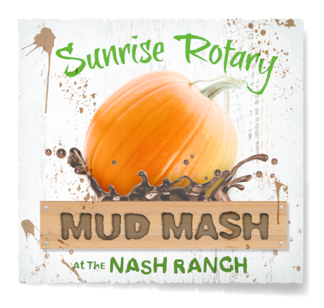 Redding Sunrise Rotary Mud Mash logo
