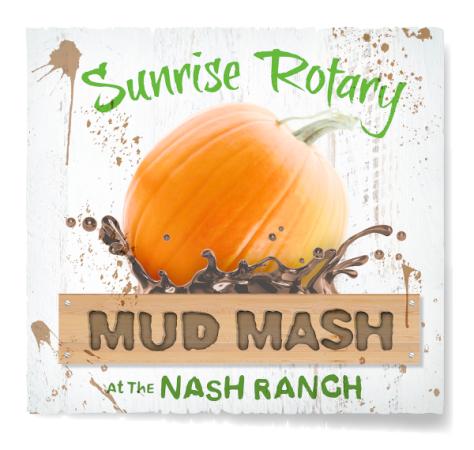 Redding Sunrise Rotary Mud Mash logo