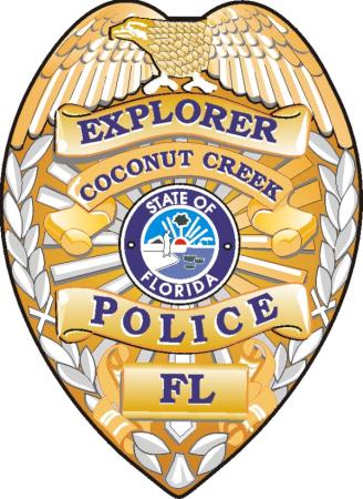 Coconut Creek Police Department Explorer Program logo