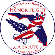 Collier County Honor Flight logo
