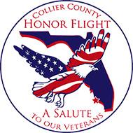Collier County Honor Flight logo