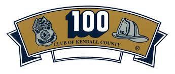 100 Club of Kendall County logo