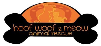 Hoof Woof Meow Animal Resue logo
