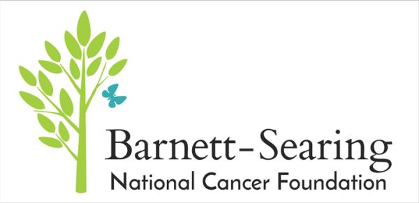 The Barnett-Searing National Cancer Foundation logo