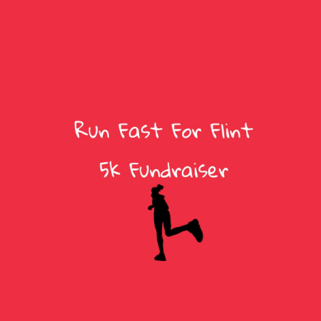 Run Fast For Flint Campaign  logo