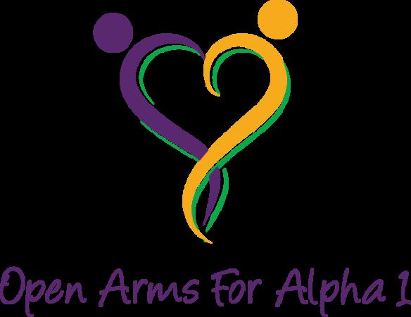 Open Arms For Alpha 1  logo