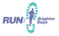 Run for Brighter Days logo