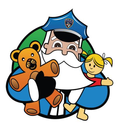 Blue Santa logo
