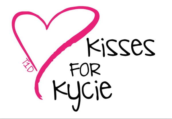 Kisses for Kycie logo