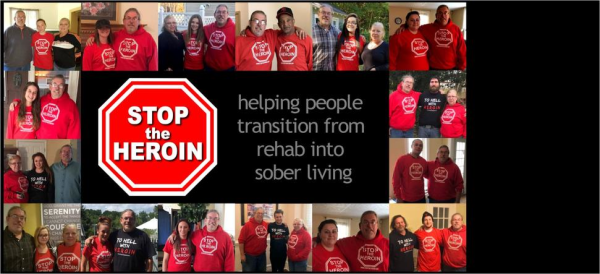 STOP the HEROIN logo