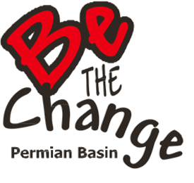 Be the Change Perman Basin logo