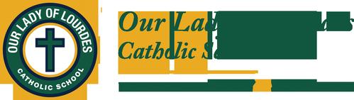 Our Lady of Lourdes Catholic School logo