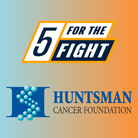 5 For The Fight and Huntsman Cancer Institute logo