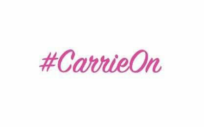 #CarrieOn Fund logo