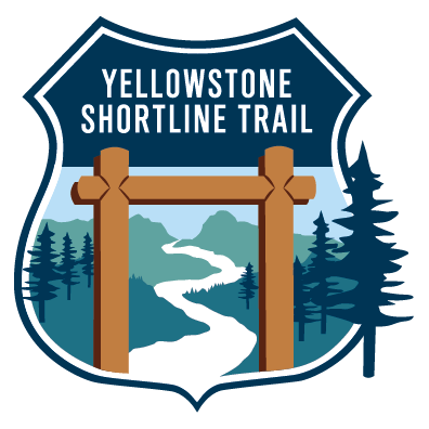 Yellowstone Shortline Trail logo