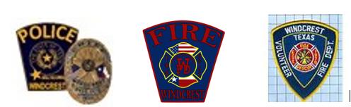 Windcrest First Responders logo