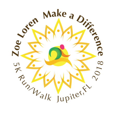 "Zoe Loren ""Make A Difference"" Foundation logo"