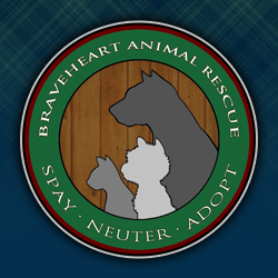 Braveheart Animal Rescue logo