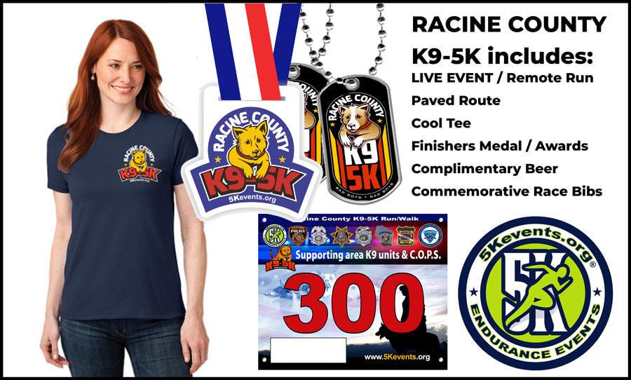 Racine County K9 5K