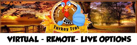 Virtual remote turkey trot
