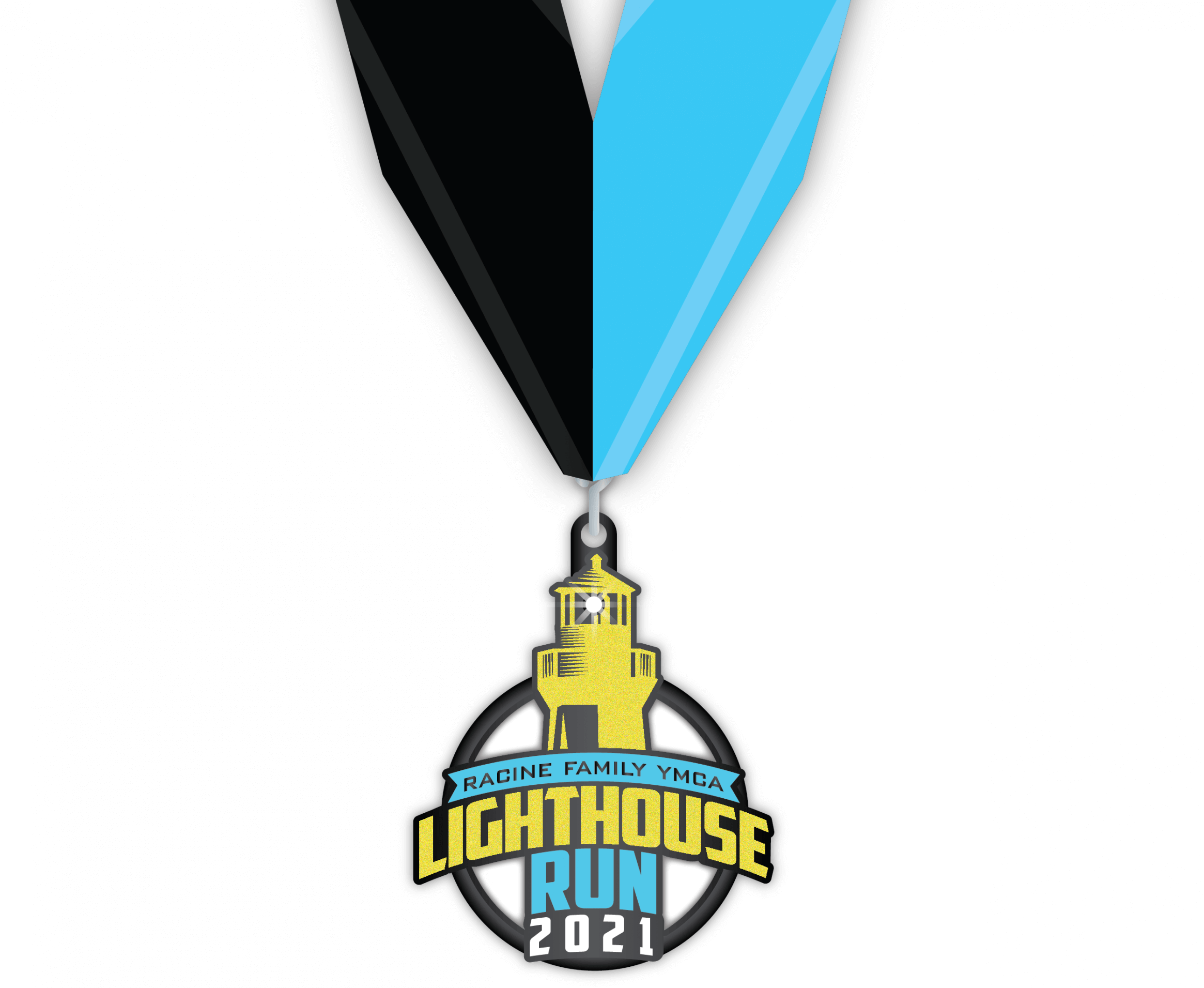Lighthouse Run 2021 Finishers Medal
