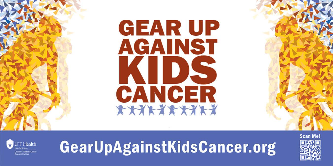 Gear Up Against Kids Cancer Logo