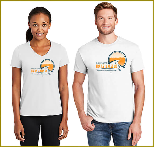 Trails to Ales 5K T-Shirts