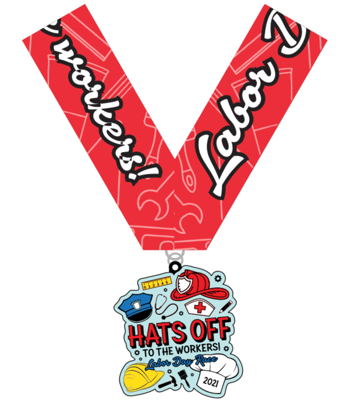 Hats Off to the Workers! Medal/Ribbon