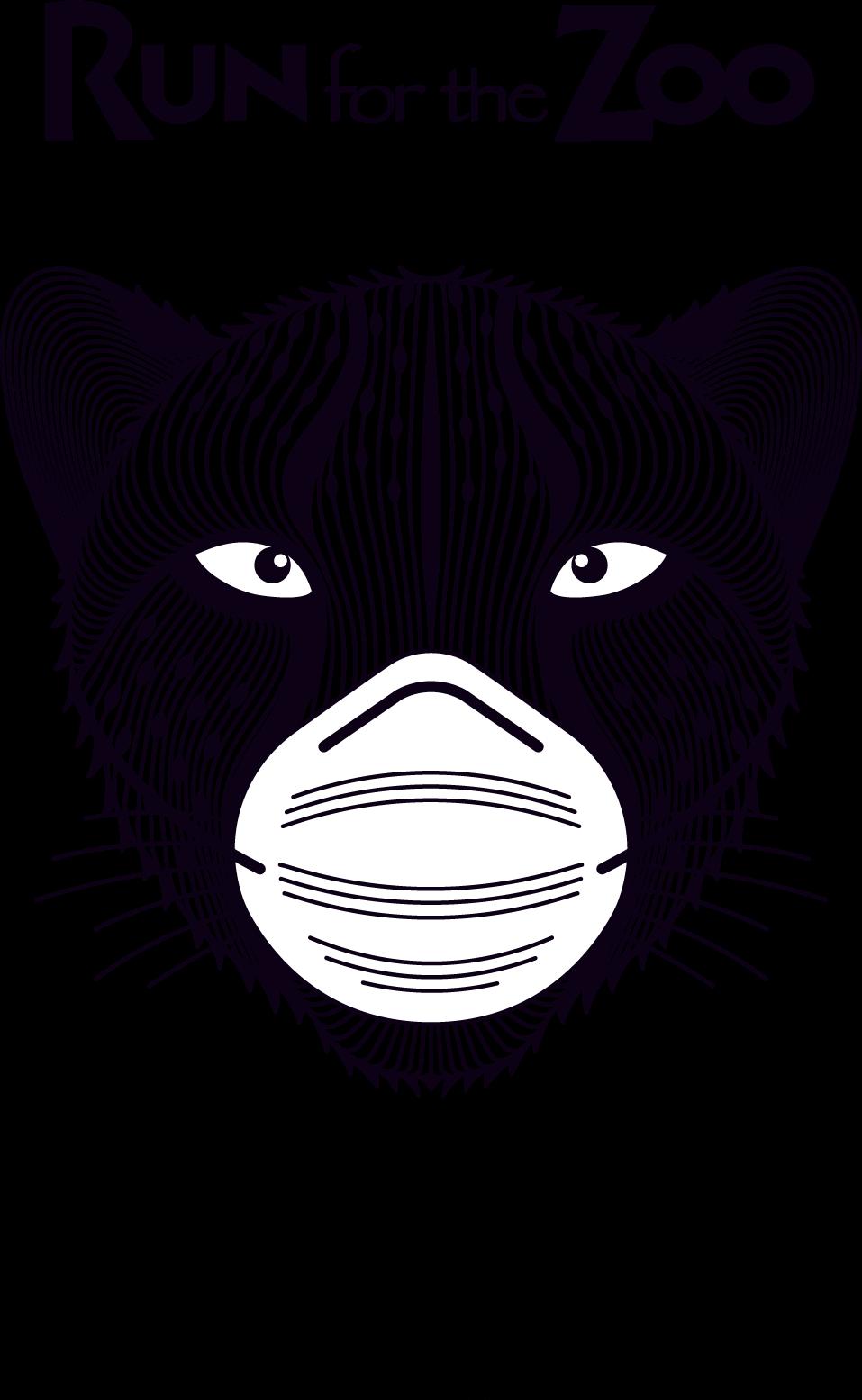 Run for the Zoo logo artwork tagline