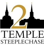 Temple to Temple Steeplechase registration logo