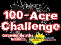 100-Acre Challenge, 5K Obstacle Adventure registration logo
