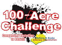 100-Acre Challenge, 5K Obstacle Adventure registration logo