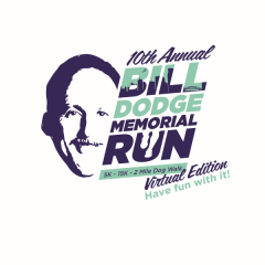 10th Annual Bill Dodge Memorial Run Virtual Edition registration logo