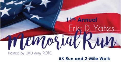 11th Annual Eric Yates Memorial Run registration logo